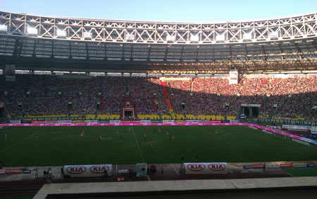 Футбольный стадион Лужники